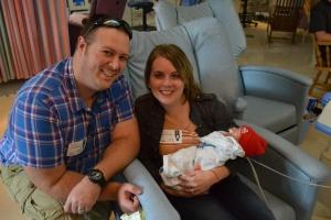 Andy and Karna with Landon