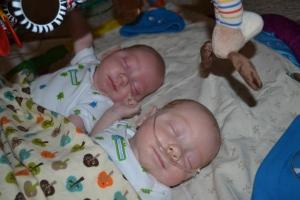 Clean babies!
